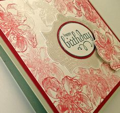 Laura's Creative Moments: Everything Eleanor ... Stampin' Up! Two birthday cards