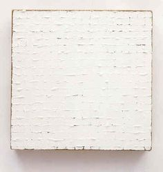 Robert Ryman  Untitled  1965  Enamel on stretched raw linen canvas