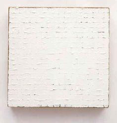 Robert Ryman  Untitled  1965  Enamel on stretched raw linen canvas