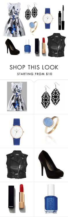 """""""Untitled #3"""" by shzurfluh ❤ liked on Polyvore featuring Latelita, Jeremy Scott, Michael Antonio, Chanel, Essie and Lord & Berry"""