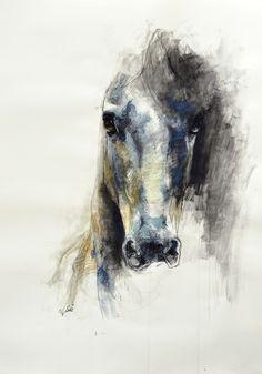 """Saatchi Online Artist: Benedicte Gele; Pastel, Drawing """"Alerte V"""""""