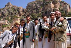 https://flic.kr/p/qK8GJy | Tribesmen, Yemen