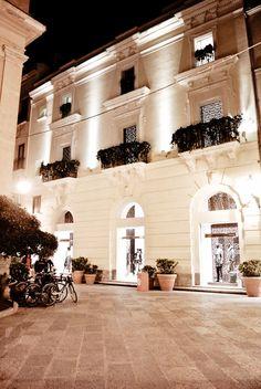 Stefania Mode's Flagship Boutique Facade.