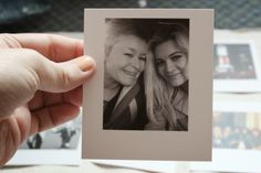 Print your photos as polaroids: http://www.psprintstudio.co/
