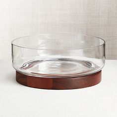 Prospect Serving Board with Glass Dome + Reviews | Crate and Barrel