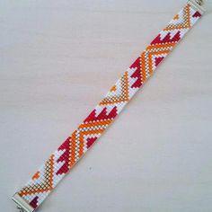 off loom beading techniques Loom Bracelet Patterns, Seed Bead Patterns, Bead Loom Bracelets, Jewelry Patterns, Beading Patterns, Beading Ideas, Embroidery Patterns, Beading Supplies, Pandora Bracelets