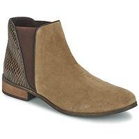 Schuhe Damen Boots Balsamik MATA Beige / Braun