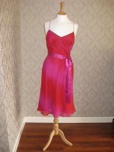 Red and pink summer dress - www.rentmydress.ie #Summerdress #pink #red #dresshireIreland