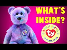 cd55992e0ca My Collection of Beanie Babies - YouTube Beanie Baby Bears