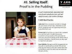 #8. Selling Itself: Proof is in the Pudding