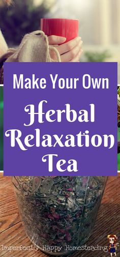Herbal Medicine DIY Herbal Tea for relaxation and anxiety. - This Chill Out herbal tea is like relaxation in a mug. This tea allows you to de-stress and relax naturally after a long stress filled day. Herbal Remedies, Natural Remedies, Health Remedies, Detox Tea Diet, Detox Drinks, Body Detox, Relaxing Tea, Chill, Homemade Detox