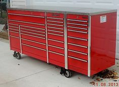 Snap On Krl1023 Tool Box Toolbox & Krl1011 End Cabinet & Stainless Top We Ship
