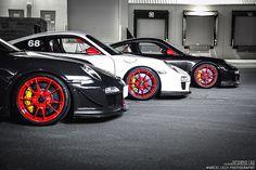 Porsche GT3 RS 3.8 | Marcel Lech, yellow brembo, red rims!