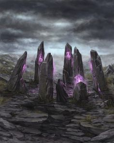 The Fell Stones. Once a shrine to the Old Gods, now a place of dread. The location of the site is a closely guarded secret to the Ranges, and they share it with no one.