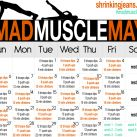 Mad Muscle May, The Workout
