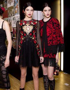Dolce & Gabbana Spring 2015 RTW - Backstage — Vogue - Kendall Jenner