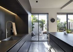 Kitchen - TOKYO Design Scheme - Dark Color Scheme - Leibal mhouse by dko -