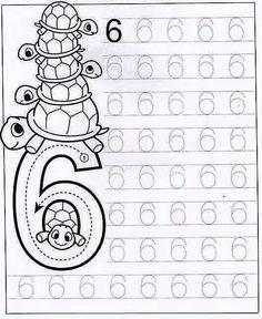 Colorindo                                           Com esta atividades pode se trabalhar a relação número/quantidade. Fica a sugestão par...