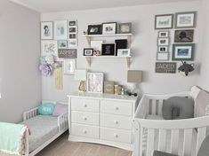 Toddler girl and baby boy nursery. Toddler girl and baby boy nursery. Baby And Toddler Shared Room, Boy And Girl Shared Room, Shared Boys Rooms, Boy Girl Room, Toddler Rooms, Toddler Girl, Kids Rooms, Childrens Bedrooms Shared, Child Room