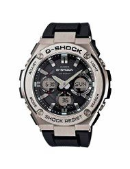 #Casio | G-Shock G-Steel Smoke Dial SS Resin Chrono Quartz #Men's #Watch GSTS110-1A: Imported New Theme for Hi-end Corner Full-auto Super…