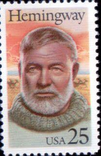 Literary Stamps: Hemingway, Ernest (1899 – 1961)