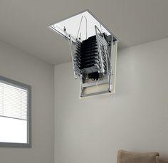 electric attic ladder attic ladderloft