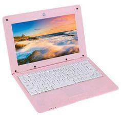 Pink Tdd-10.1 Netbook Pc 10.1 Inch 1gb+8gb Android 5.1 Atm7059 Quad Core 1.6ghz Bt Wifi Hdmi Sd Rj45