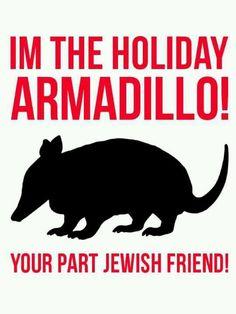 I'm the Holiday ARMADILLO