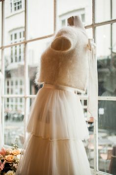 Cashmere top and tiered 50's inspired tulle skirt by Halfpenny London ~ A Look Inside Kate's Beautiful London Flagship Boutique | Love My Dress® UK Wedding Blog