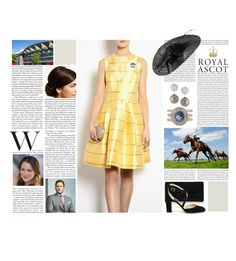 """""""Untitled #2777"""" by duchessq ❤ liked on Polyvore featuring Reiss, Belpearl and Jimmy Choo"""