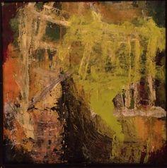 Kell Jarner. Acrylic on canvas, 100 x 100 cm.