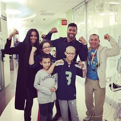 We are #StrongAgainstCancer with Nico @Ciara @SeattleChildrens @StrongAgainstCancer 6.2.15