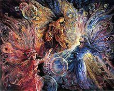 "Josephine Wall's ""Fairies"""