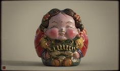 DA A FU-texture version, Zhelong XU on ArtStation at https://www.artstation.com/artwork/qOB5D