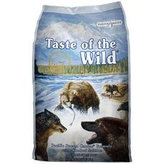 Taste Of The Wild Dog Food Pacific Stream Smoked Salmon - A fish protein, grain-free formula with sweet potatoes provides highly digestible energy for your sensitive dog. Made with real smoked salmon, this formula offers a taste sensation like no other. Best Dog Food, Dry Dog Food, Best Dogs, Pet Food, Tenerife, Omega Fettsäuren, Les Croquettes, Dog Food Reviews, Grain Free Dog Food