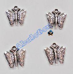 charms mariposas 15mmx15mm