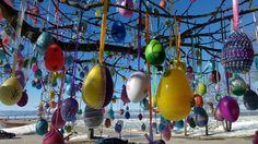 Joyeuses Pâques! Le cocotier de #Pâques du Café Bistro Ok.  #cotedusud