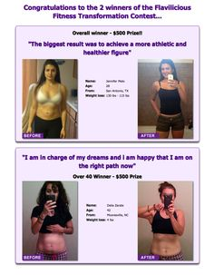 Find inspiration from these great testimonies ->   http://www.flaviliciousfitness.com/blog/2012/11/09/rapid-weight-loss/