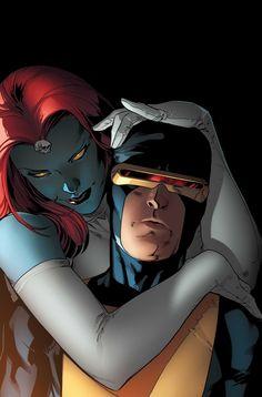 Mystique and Cyclops, All-New X-Men #7byStuart Immonen.