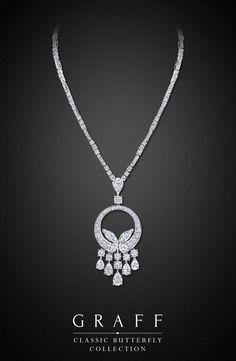 Graff Diamonds: Classic Butterfly Necklace