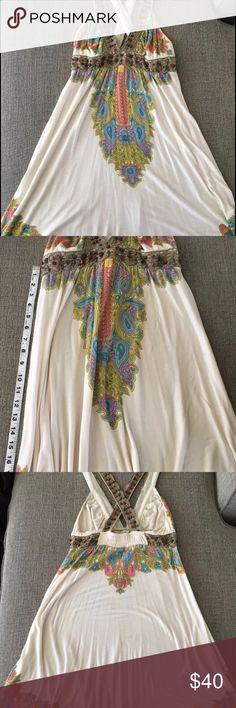 Free People Bohemian summer dress Sz small beautiful summer dress by Free People, in good condition originally $168. Free People Dresses