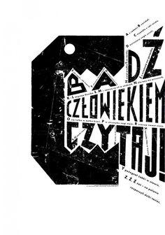 Eine Serie von acht Plakaten mit typografisch gestalteten Tieren, die zum Lesen animieren sollen