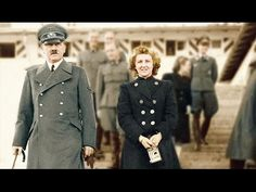 Colorized photo of Adolf Hitler and Eva Braun World History, World War Ii, Human Rights Watch, The Third Reich, Interesting History, Military History, Historical Photos, Wwii, Germany