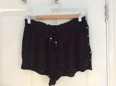 Matthew Williamson black shorts