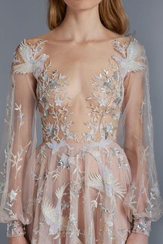 WedLuxe – Paolo Sebastian – S/S 2015-6 Couture |  Follow @WedLuxe for more wedding inspiration!