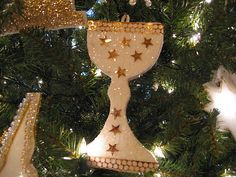 Chrismon ornament