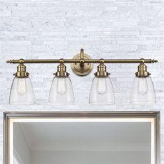 Bel Air Lighting Number Of Lights-Uom:Na-Light Soft Tone Gold Standard Bathroom Vanity Light