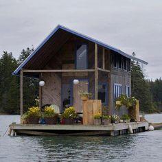 Maison en mer :)