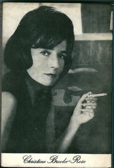 Christine Brooke-Rose (1923-2012)  http://www.guardian.co.uk/books/2012/mar/23/christine-brooke-rose  http://gubbinry.wordpress.com/tag/christine-brooke-rose/