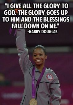 Gabby Douglas I think this is my favorite quote of the olympics Great Quotes, Quotes To Live By, Inspirational Quotes, Motivational Thoughts, Awesome Quotes, Meaningful Quotes, Cool Words, Wise Words, Thats The Way